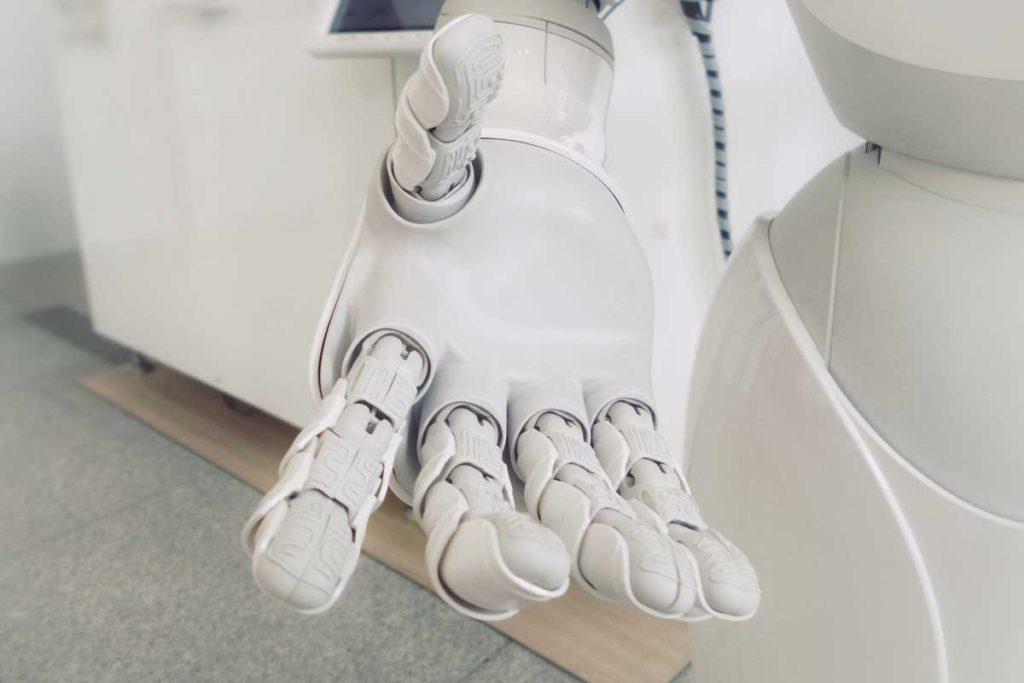 open robot hand