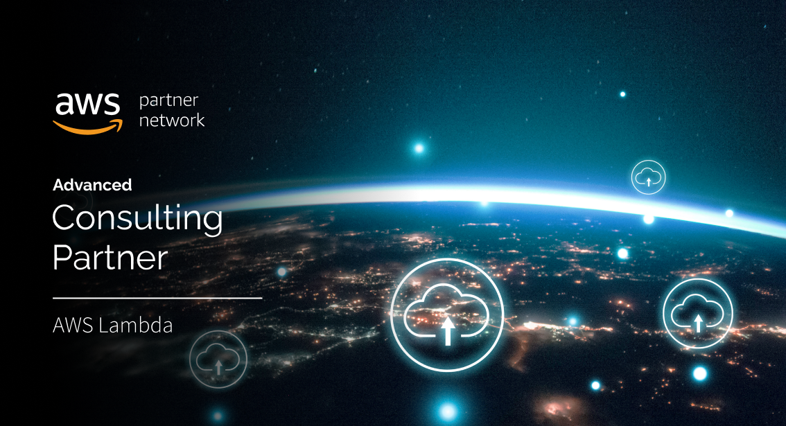 AWS Earth space banner