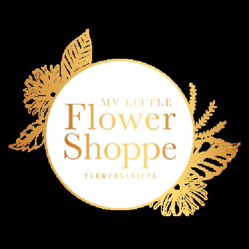 my little flower shoppe logo