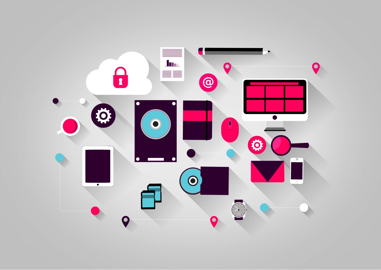 Visual presentation of Internet of Things