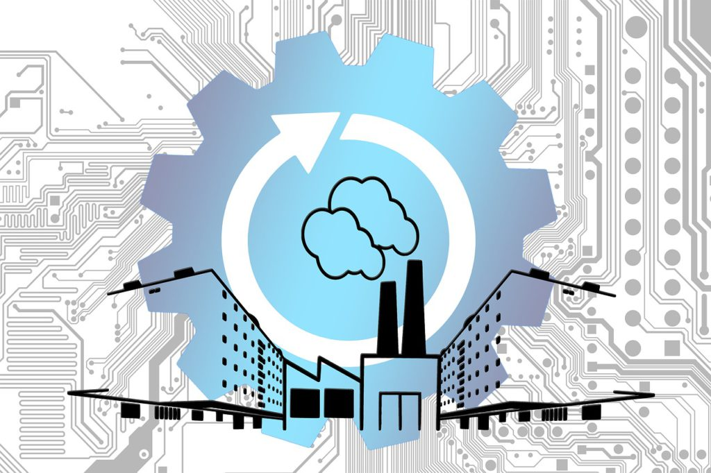 Internet of things graphic industry